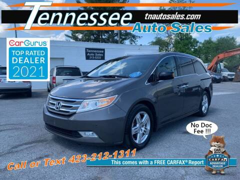 2011 Honda Odyssey for sale at Tennessee Auto Sales in Elizabethton TN