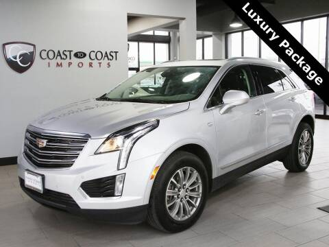 2018 Cadillac XT5 for sale at Coast to Coast Imports in Fishers IN