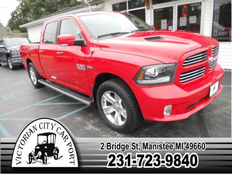 2017 RAM Ram Pickup 1500 for sale at Victorian City Car Port INC in Manistee MI
