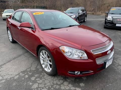 2011 Chevrolet Malibu for sale at Bob Karl's Sales & Service in Troy NY