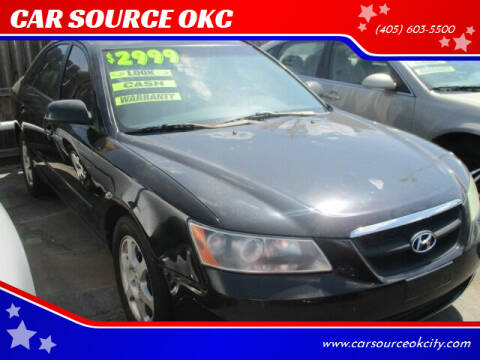 2006 Hyundai Sonata for sale at Car One - CAR SOURCE OKC in Oklahoma City OK