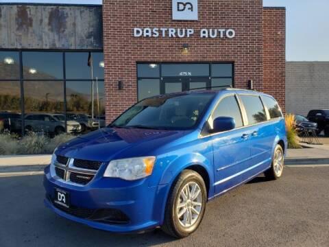 2013 Dodge Grand Caravan for sale at Dastrup Auto in Lindon UT