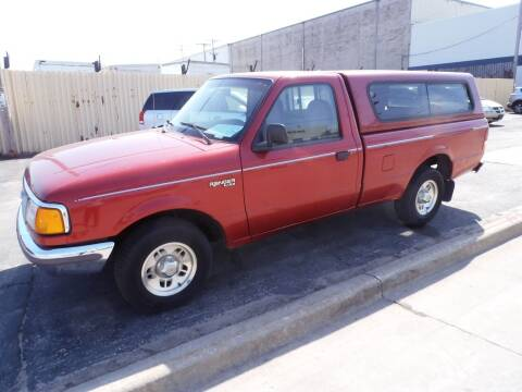 1997 Ford Ranger for sale at A-Auto Luxury Motorsports in Milwaukee WI