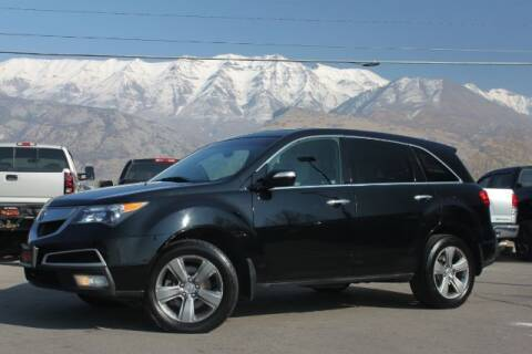 2011 Acura MDX for sale at REVOLUTIONARY AUTO in Lindon UT