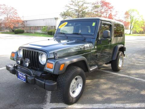 2006 Jeep Wrangler for sale at Master Auto in Revere MA