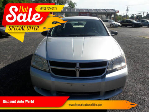 2010 Dodge Avenger for sale at Discount Auto World in Morris IL