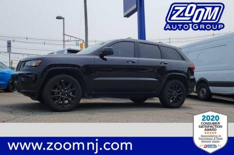 2018 Jeep Grand Cherokee for sale at Zoom Auto Group in Parsippany NJ