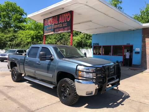 2010 Chevrolet Silverado 2500HD for sale at Global Auto Sales and Service in Nashville TN