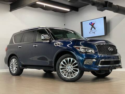 2015 Infiniti QX80 for sale at TX Auto Group in Houston TX