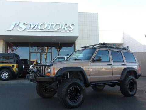 1999 Jeep Cherokee for sale at J'S MOTORS in San Diego CA