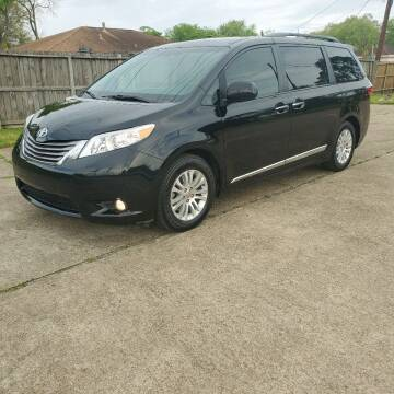 2016 Toyota Sienna for sale at MOTORSPORTS IMPORTS in Houston TX