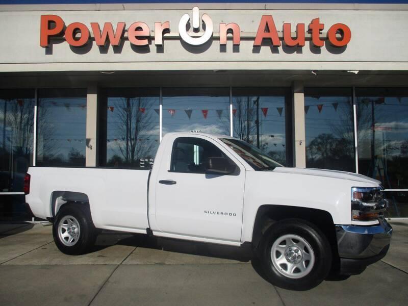 2016 Chevrolet Silverado 1500 for sale at Power On Auto LLC in Monroe NC