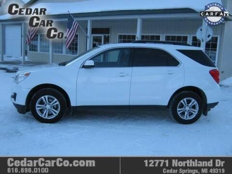 2012 Chevrolet Equinox for sale at Cedar Car Co in Cedar Springs MI