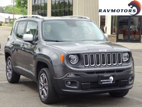 2017 Jeep Renegade for sale at RAVMOTORS 2 in Crystal MN
