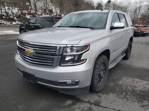2015 Chevrolet Tahoe for sale at Mulligan's Auto Exchange LLC in Paxinos PA