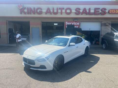 2015 Maserati Ghibli for sale at KING AUTO SALES  II in Detroit MI