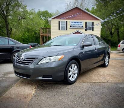 2009 Toyota Camry for sale at Unique LA Motor Sales LLC in Byrnes Mill MO