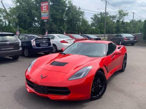 2019 Chevrolet Corvette for sale at Elmwood D+J Auto Sales in Agawam MA
