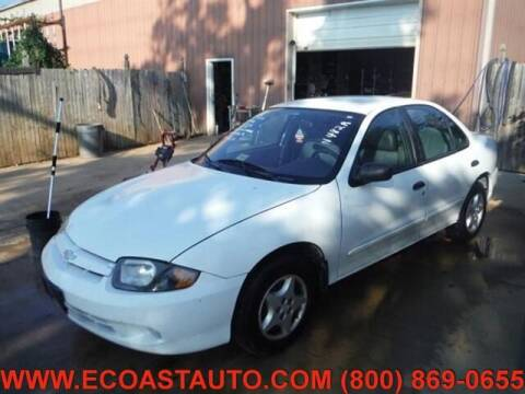 2003 Chevrolet Cavalier for sale at East Coast Auto Source Inc. in Bedford VA