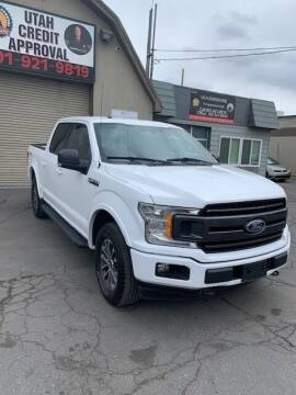 2018 Ford F-150 for sale at Utah Credit Approval Auto Sales in Murray UT