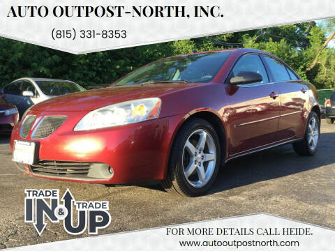 2008 Pontiac G6 for sale at Auto Outpost-North, Inc. in McHenry IL