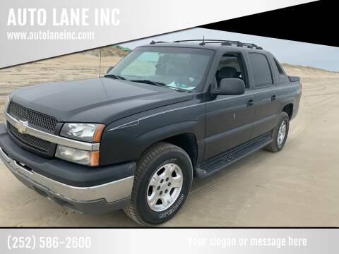 2003 Chevrolet Avalanche for sale at AUTO LANE INC in Henrico NC