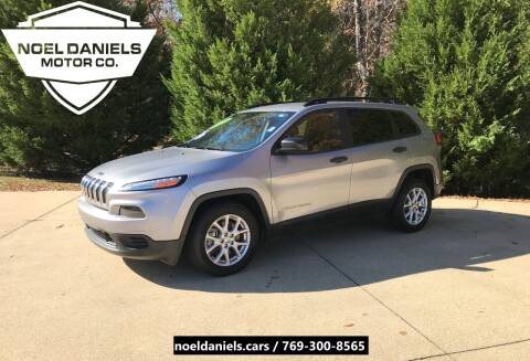 2016 Jeep Cherokee for sale at Noel Daniels Motor Company in Brandon MS