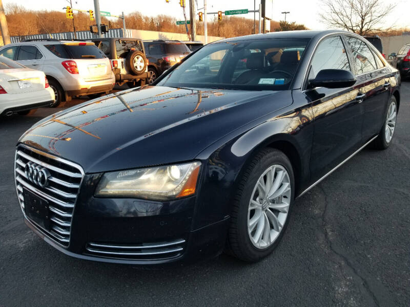 2011 Audi A8 for sale at Cedar Auto Group LLC in Akron OH
