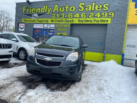 2011 Chevrolet Equinox for sale at Friendly Auto Sales in Detroit MI
