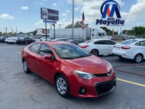 2015 Toyota Corolla for sale at Auto Mayella in Miami FL