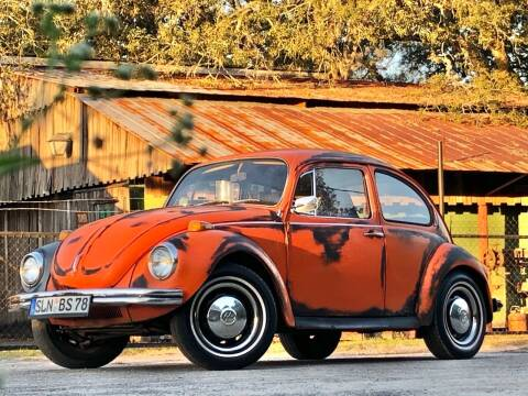 1972 Volkswagen Beetle Classic for sale at OVE Car Trader Corp in Tampa FL
