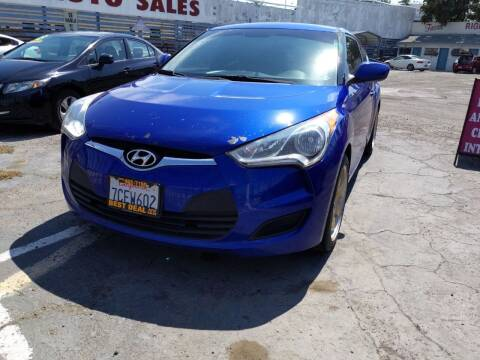 2013 Hyundai Veloster for sale at Best Deal Auto Sales in Stockton CA