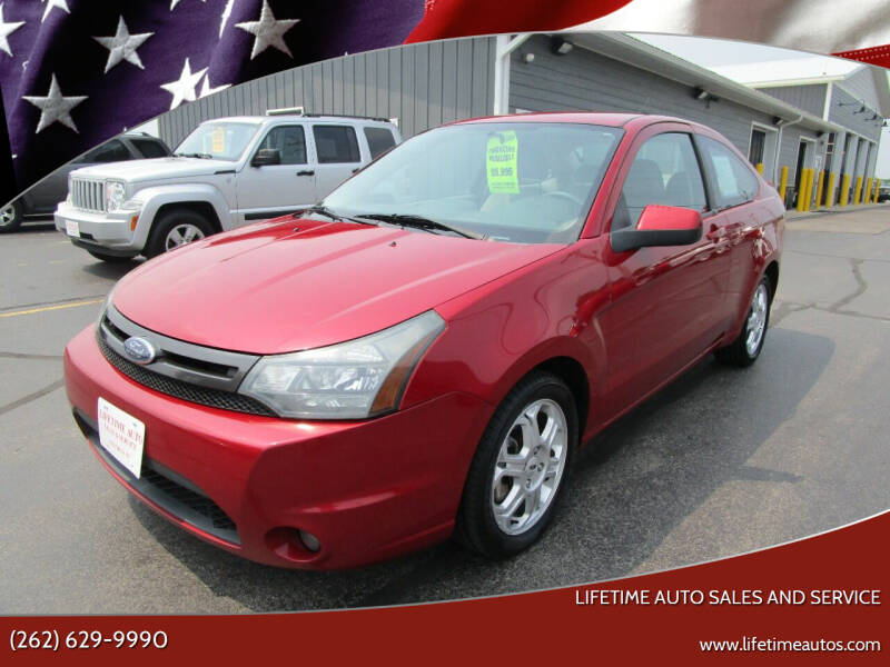 2009 Ford Focus for sale at Lifetime Auto Sales and Service in West Bend WI