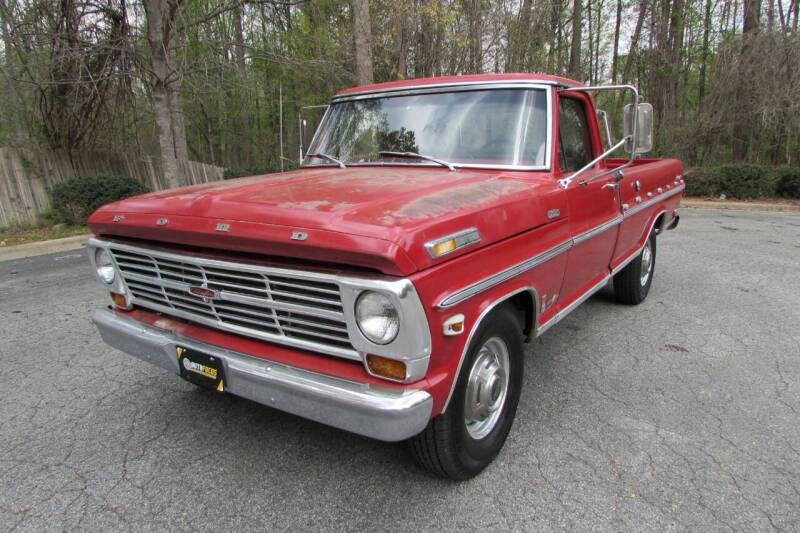 1968 Ford F-250 for sale at AUTO FOCUS in Greensboro NC