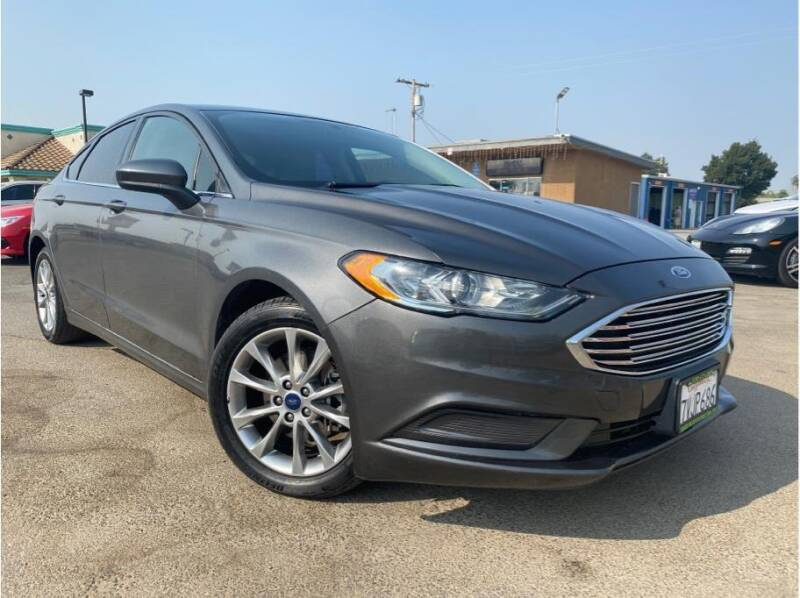 2017 Ford Fusion for sale at MADERA CAR CONNECTION in Madera CA