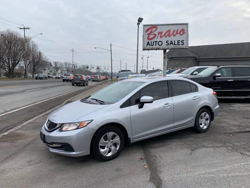 2014 Honda Civic for sale at Bravo Auto Sales in Whitesboro NY