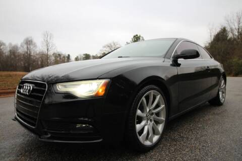 2013 Audi A5 for sale at Oak City Motors in Garner NC