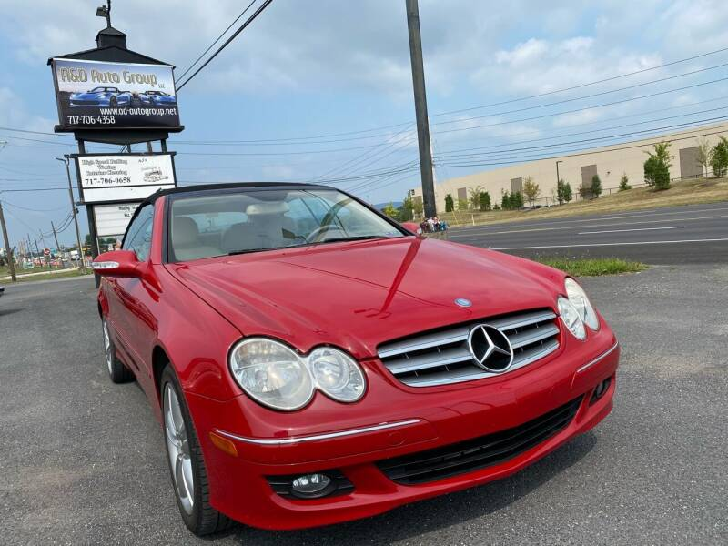 2008 Mercedes-Benz CLK for sale at A & D Auto Group LLC in Carlisle PA