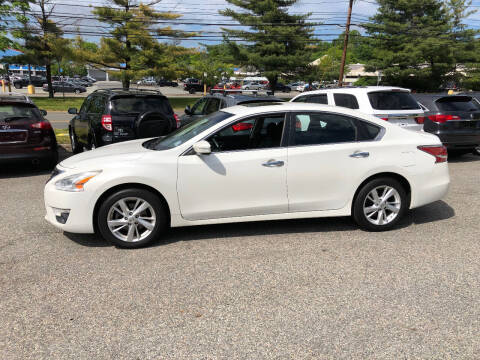 2014 Nissan Altima for sale at Matrone and Son Auto in Tallman NY