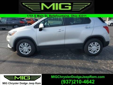 2017 Chevrolet Trax for sale at MIG Chrysler Dodge Jeep Ram in Bellefontaine OH