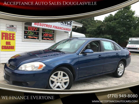 2006 Chevrolet Impala for sale at Acceptance Auto Sales Douglasville in Douglasville GA