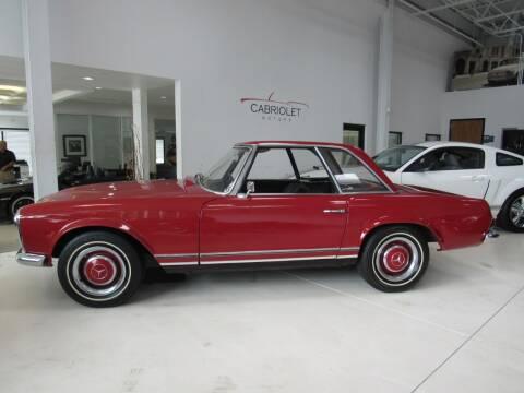 1965 Mercedes-Benz 230-SL for sale at Cabriolet Motors in Morrisville NC
