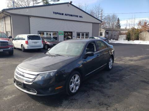 2012 Ford Fusion for sale at Topham Automotive Inc. in Middleboro MA