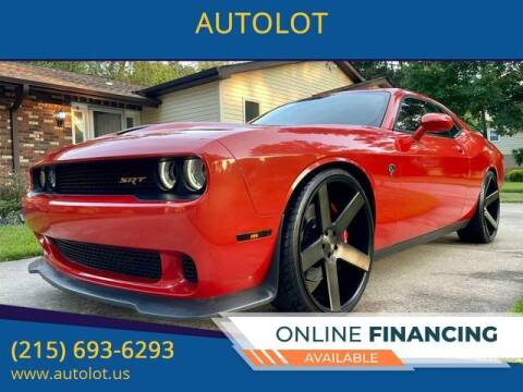 2016 Dodge Challenger for sale at AUTOLOT in Bristol PA
