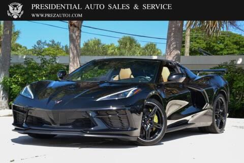 2020 Chevrolet Corvette for sale at Presidential Auto  Sales & Service in Delray Beach FL