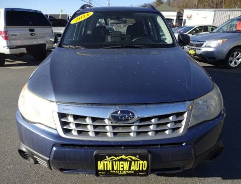 2011 Subaru Forester for sale at MOUNTAIN VIEW AUTO in Lyndonville VT