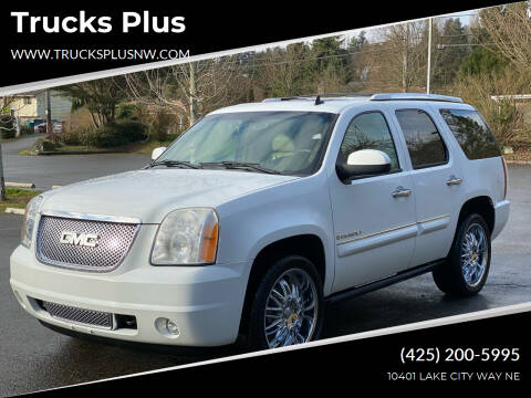 2007 GMC Yukon for sale at Trucks Plus in Seattle WA