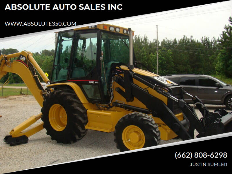 2008 Caterpillar 420D EXTEND-A-HOE BACKHOE for sale at ABSOLUTE AUTO SALES INC in Corinth MS