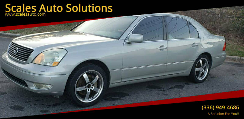 2003 Lexus LS 430 for sale at Scales Auto Solutions in Madison NC
