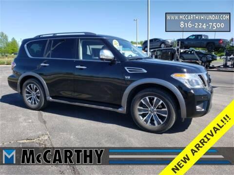 2020 Nissan Armada for sale at Mr. KC Cars - McCarthy Hyundai in Blue Springs MO